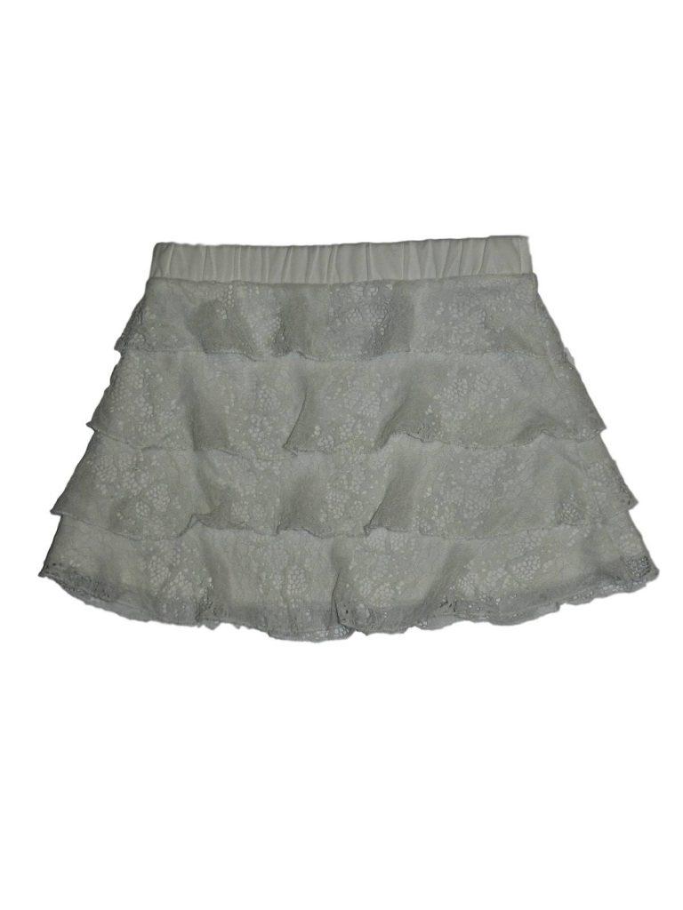 Hibátlan Egyéb márka Csipkés fehér szoknya (104)