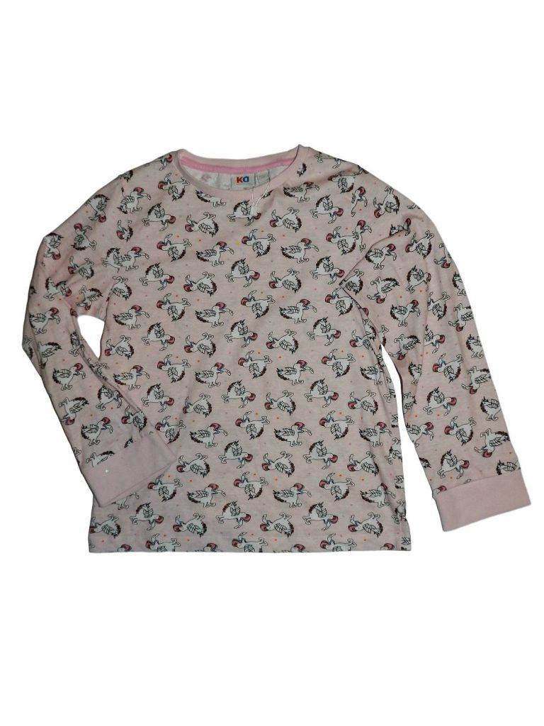 Újszerű Egyéb márka Unikornis pizsama felső (134-140)