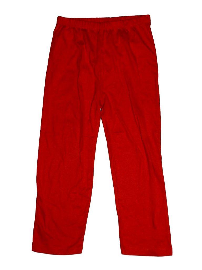 Újszerű Egyéb márka Piros pizsama nadrág (104-110)