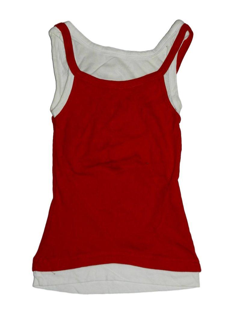 Hibátlan Tammy Piros-fehér trikó (128-134)