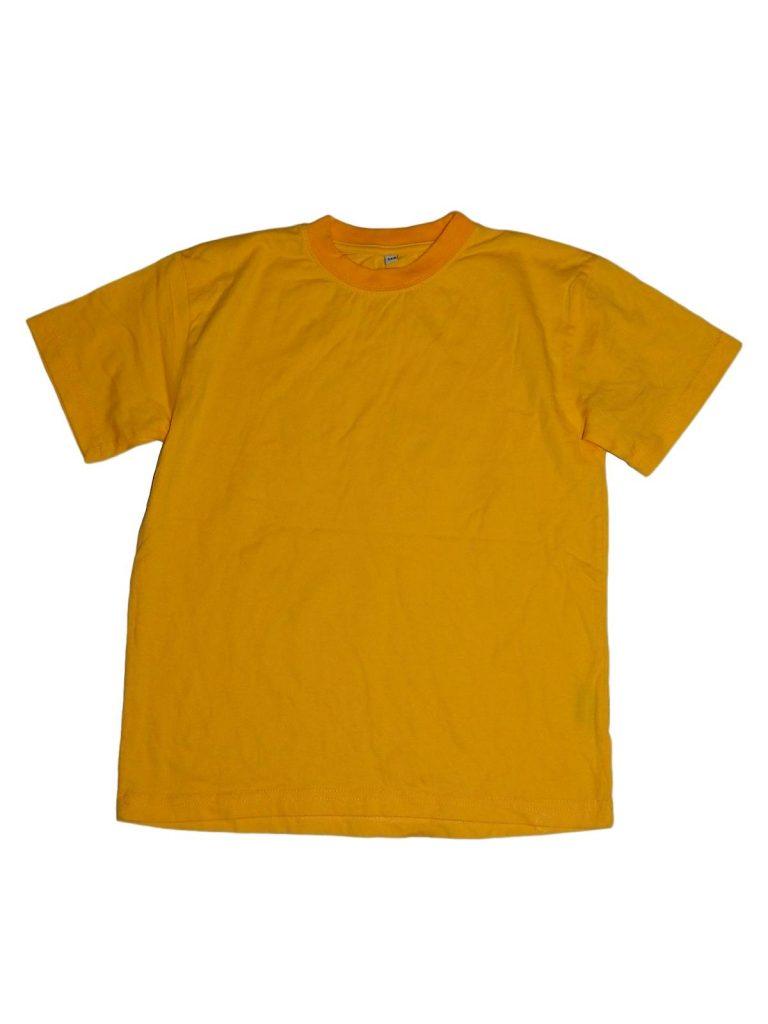 Újszerű Egyéb márka Sárga pamut póló (140)