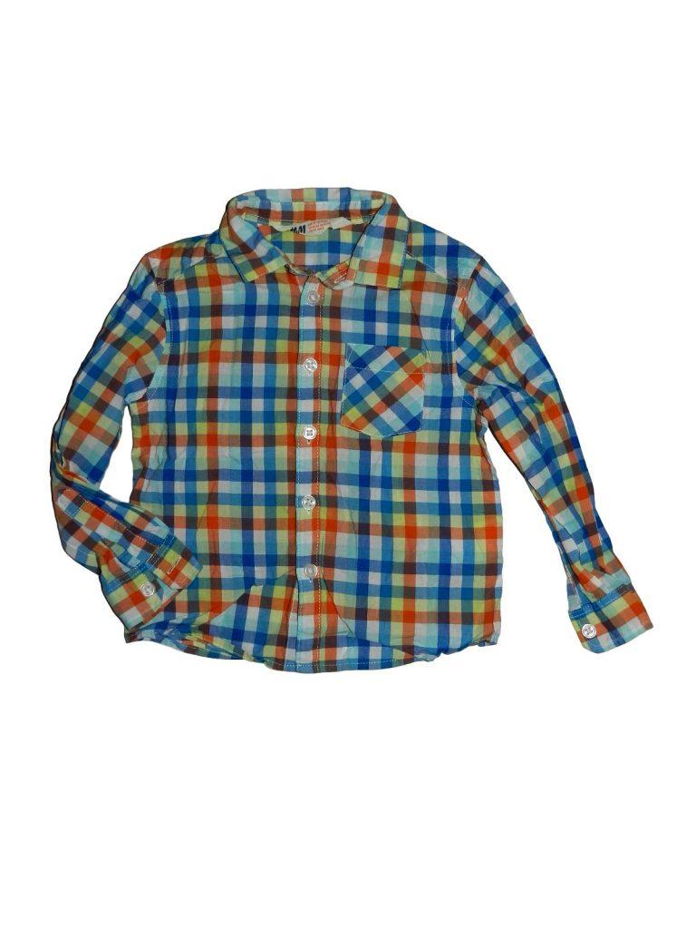 Hibátlan H&M Kockás, színes ing (92)