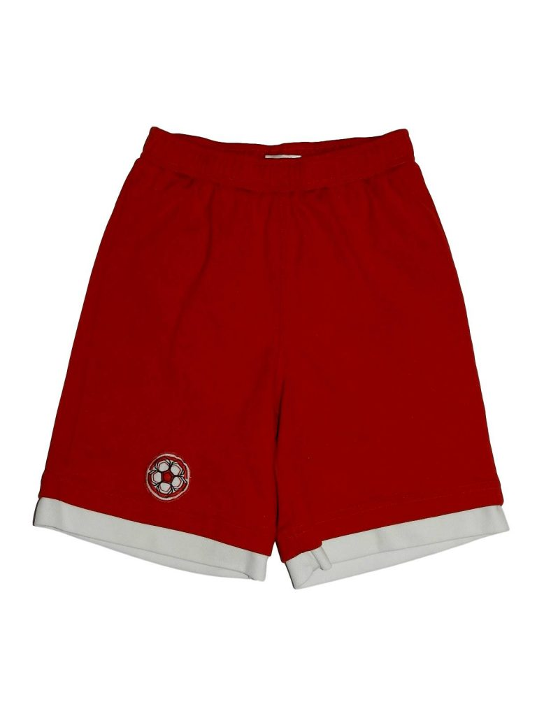Hibátlan Egyéb márka Piros rövidnadrág (140)