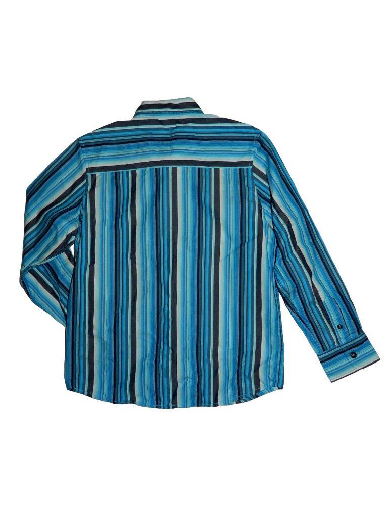 Hibátlan Next Kék csíkos ing (134)