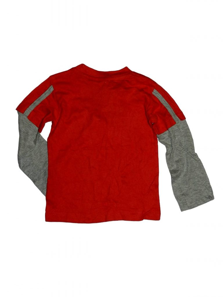 Új / Outlet Egyéb márka Piros, feliratos felső (86-92)