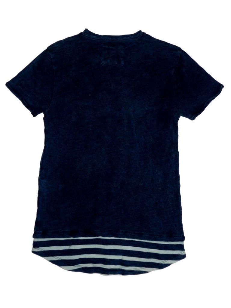 Hibátlan Egyéb márka Sötétkék, zsebes póló (134-140)