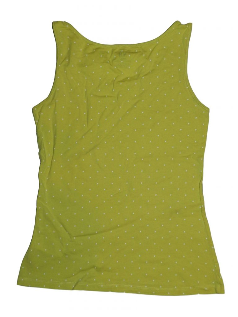 Hibátlan H&M Sárga, fehér pöttyös trikó (158-164)