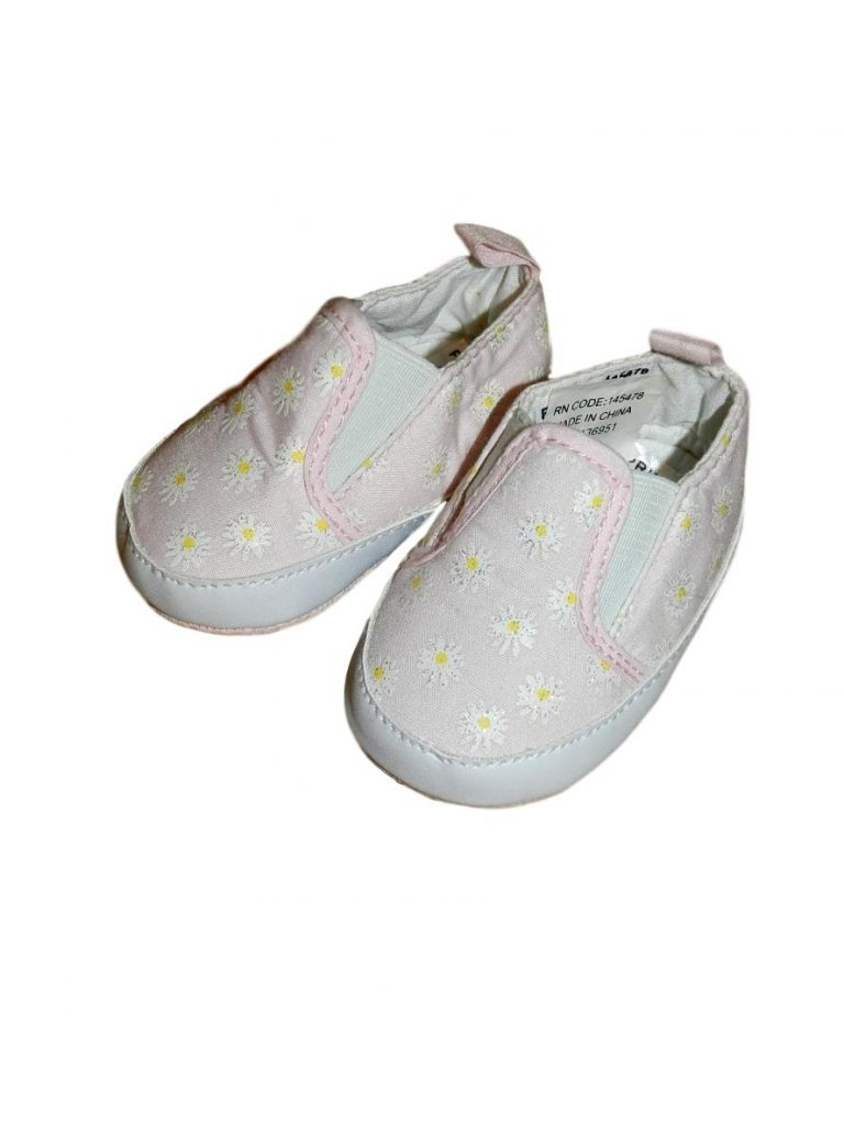 Új / Outlet Egyéb márka Virágmintás kocsicipő (62-68)