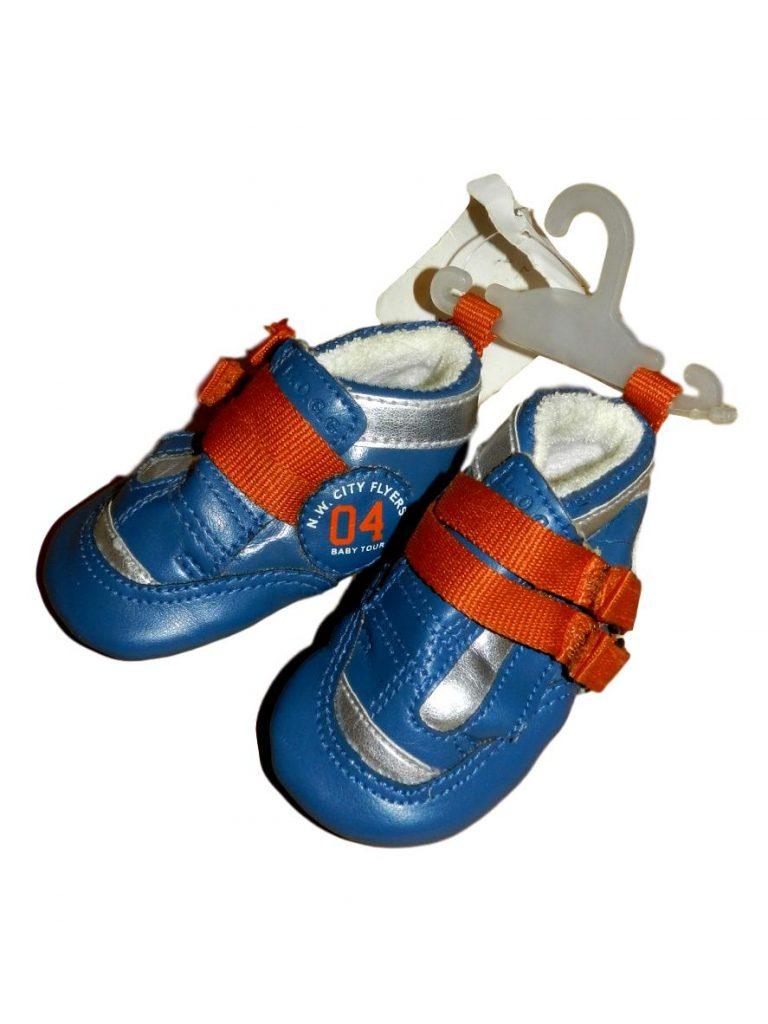 Új / Outlet H&M Narancssárga, kék kocsicipő (56-68)