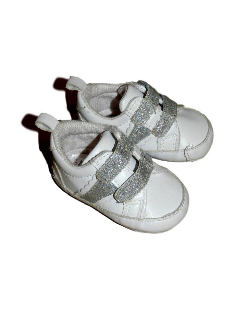 Újszerű Egyéb márka Csillámos kocsicipő (68-74)