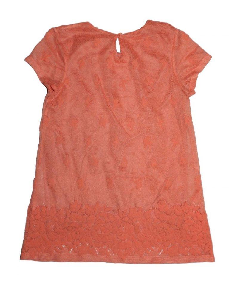Jó állapotú George Lazac színű ruha (134-140)