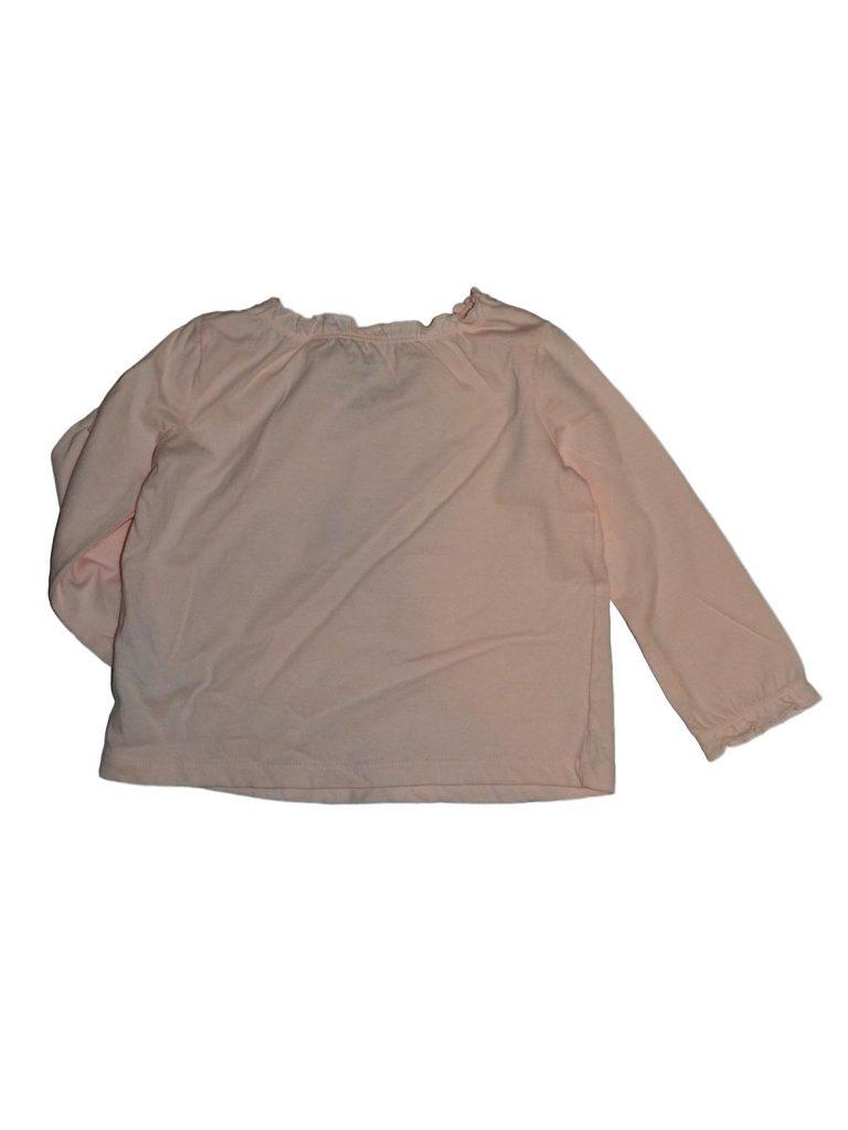 Új / Outlet F&F Rózsaszín hímzett felső (74-80)