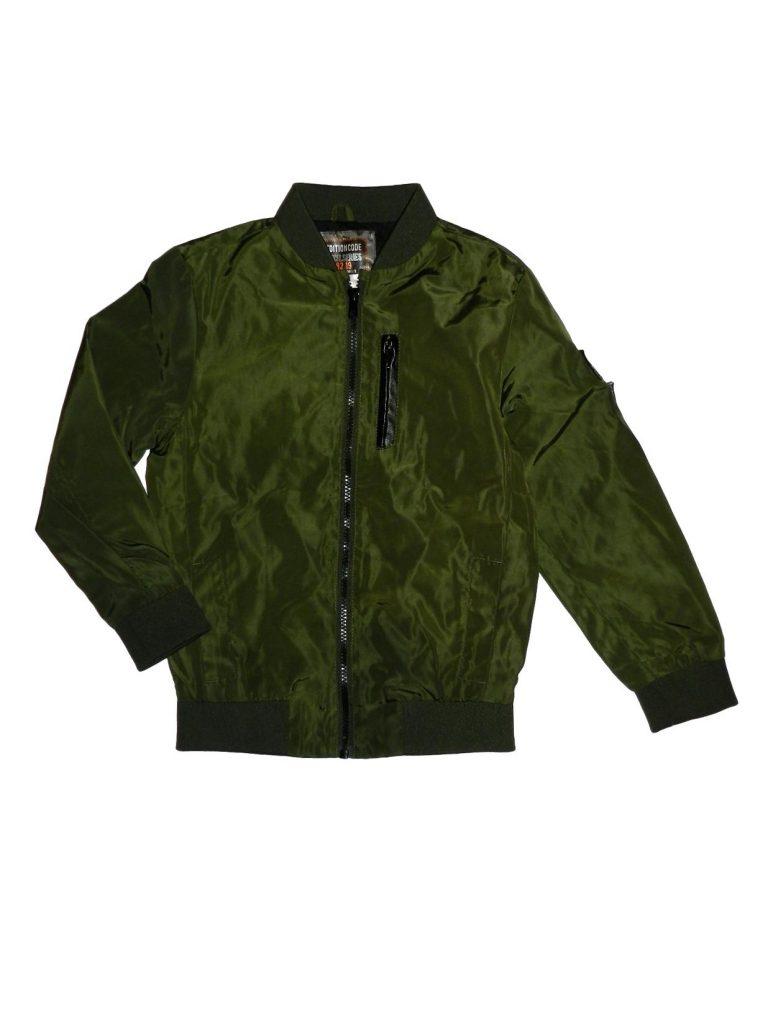 Újszerű F&F Zöld átmeneti kabát (128)
