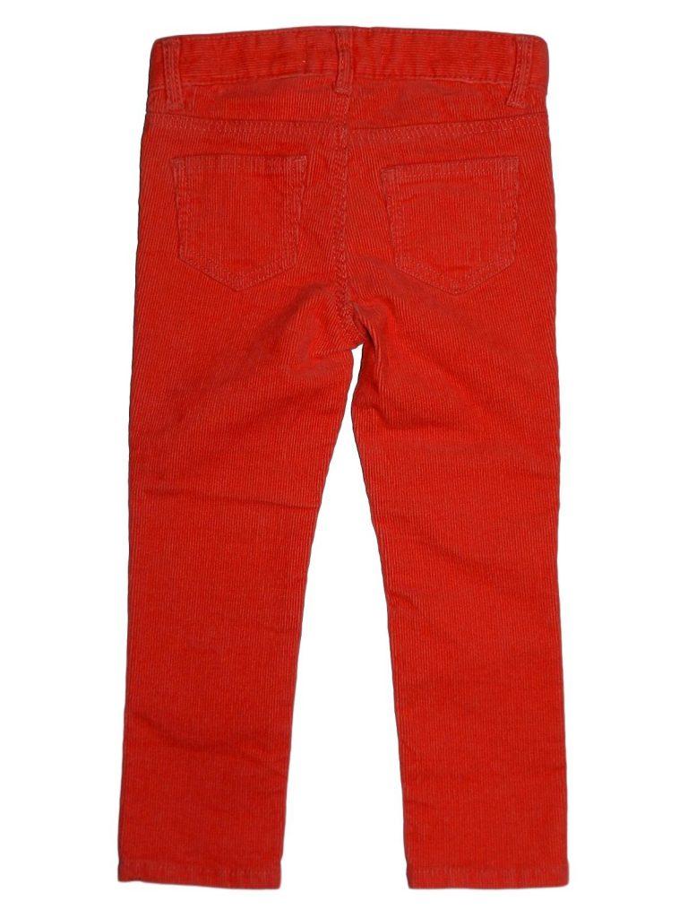 Új / Outlet H&M Tégla színű, kord nadrág (92)