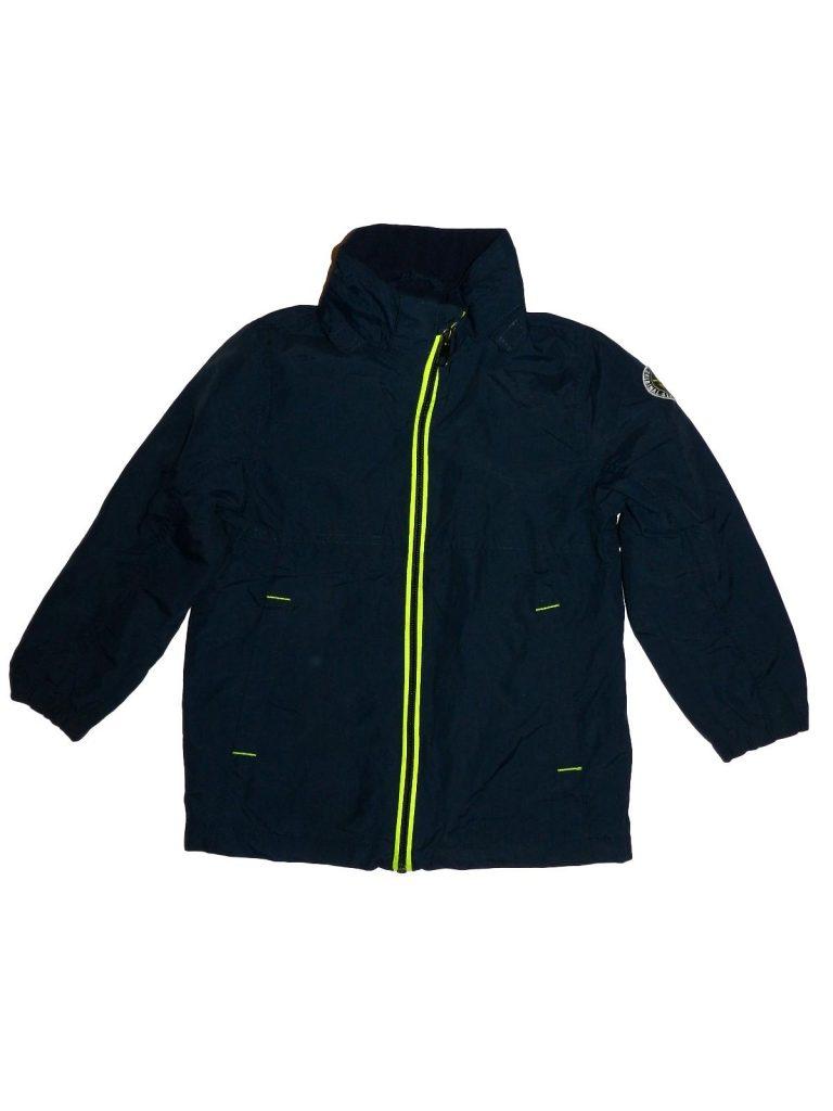 Hibátlan H&M Sötétkék átmeneti kabát (116)