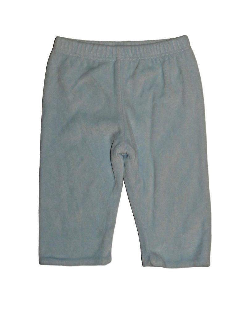 Hibátlan Marks & Spencer Kék plüss nadrág (62-68)