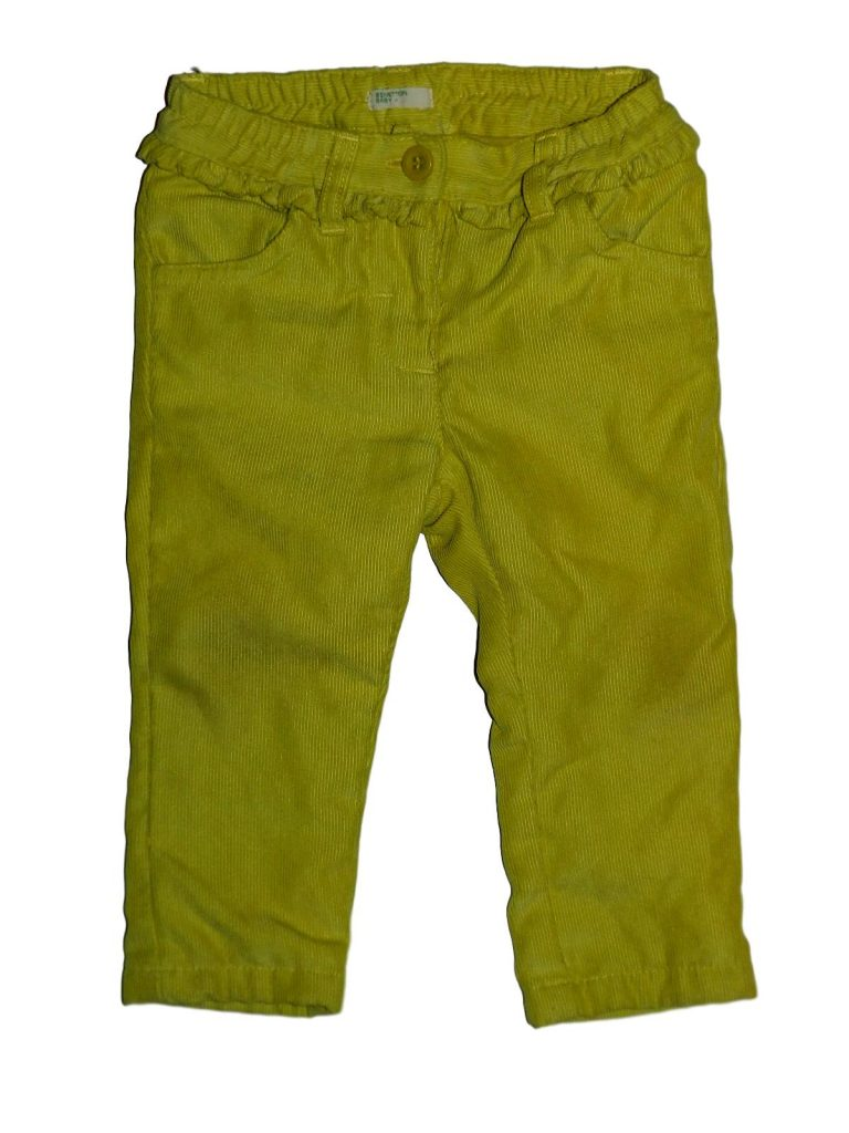 Jó állapotú Benetton Kord nadrág (68-74)