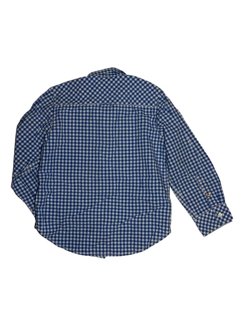 Hibátlan H&M Kék-fehér kockás ing (110-116)