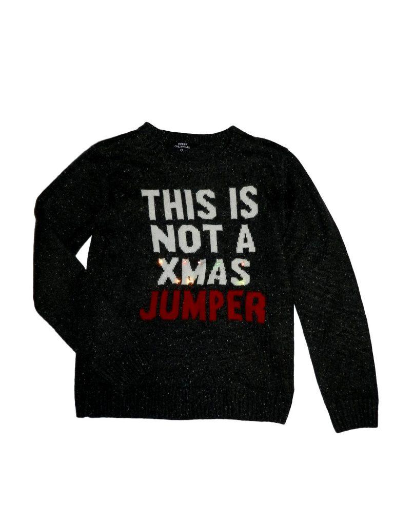 Hibátlan Matalan Ledes karácsonyi pulóver (158)