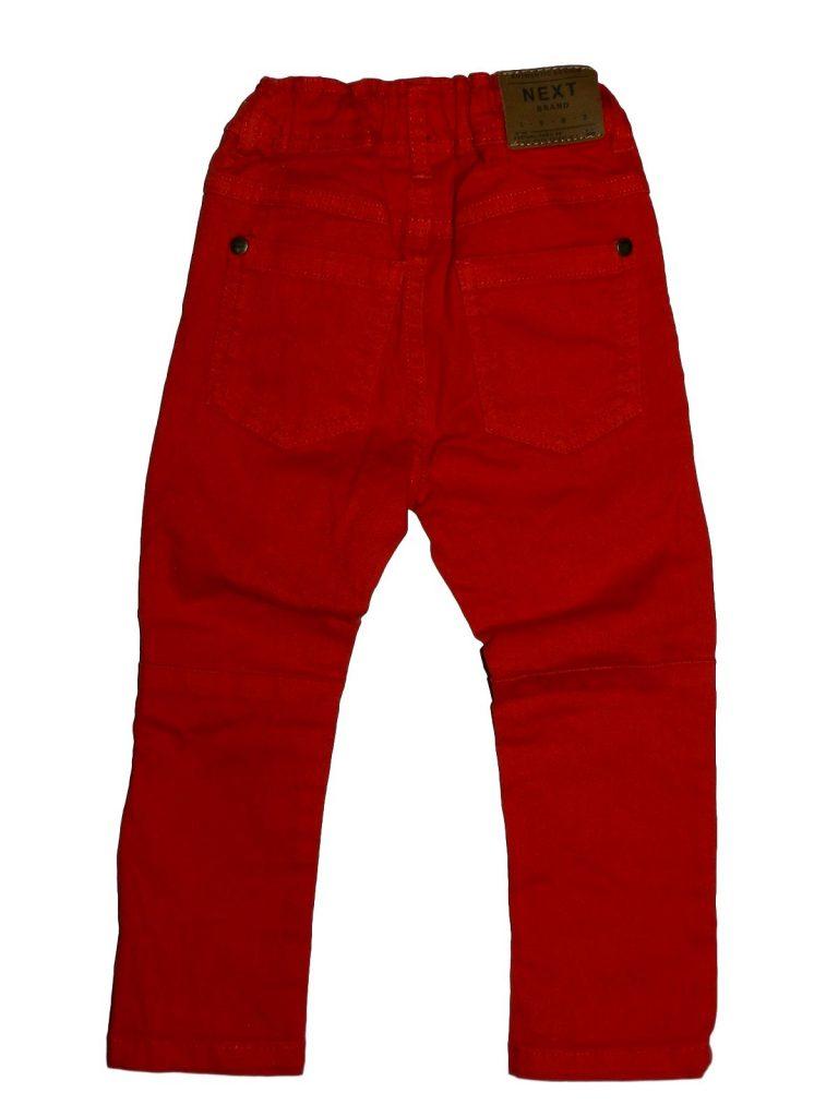 Hibátlan Next Piros farmernadrág (80-86)
