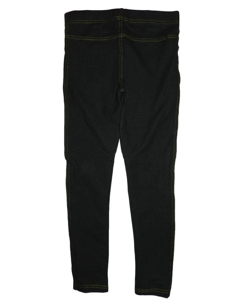 Hibátlan Egyéb márka Fekete jeggings (140-146)