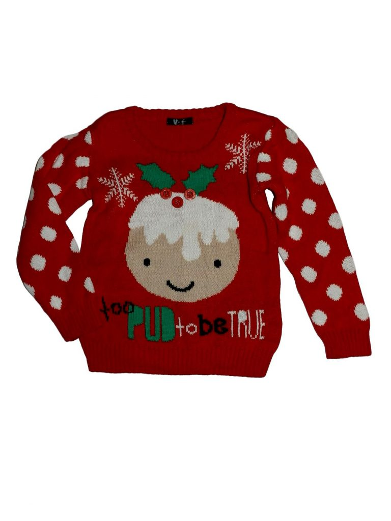 Hibátlan Egyéb márka Karácsonyi pulóver (98-104)