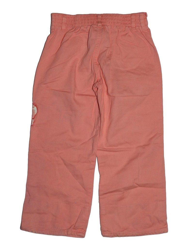 Hibátlan Egyéb márka Rózsaszín, hímzett nadrág (98-104)