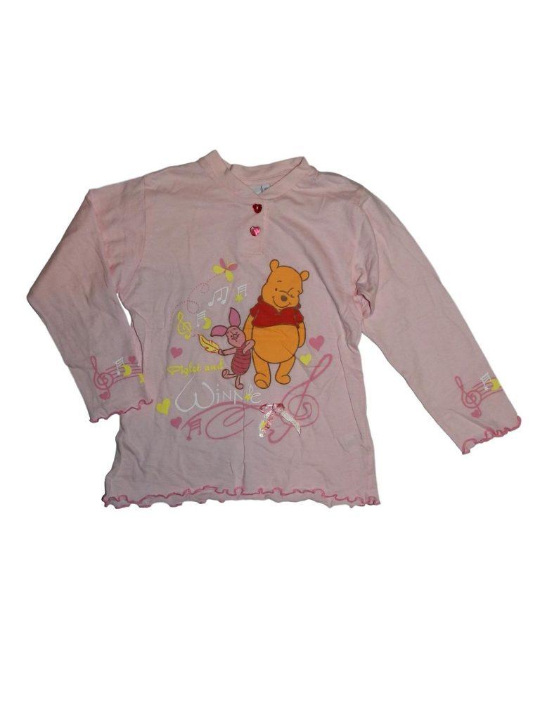 Hibátlan Disney Micimackós pizsama felső (116)