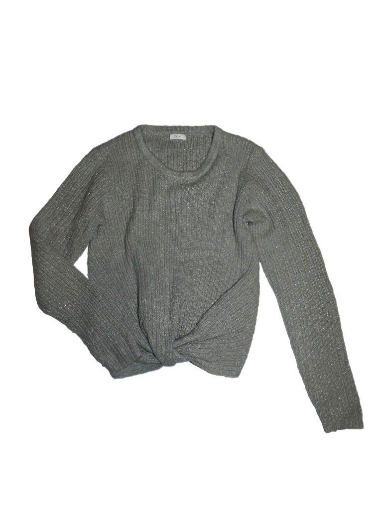 Jó állapotú Next Szürke kötött pulóver (152)
