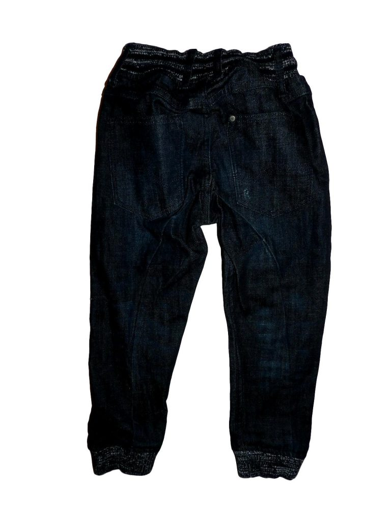 Hibátlan H&M Kék, koptatott farmernadrág (110)