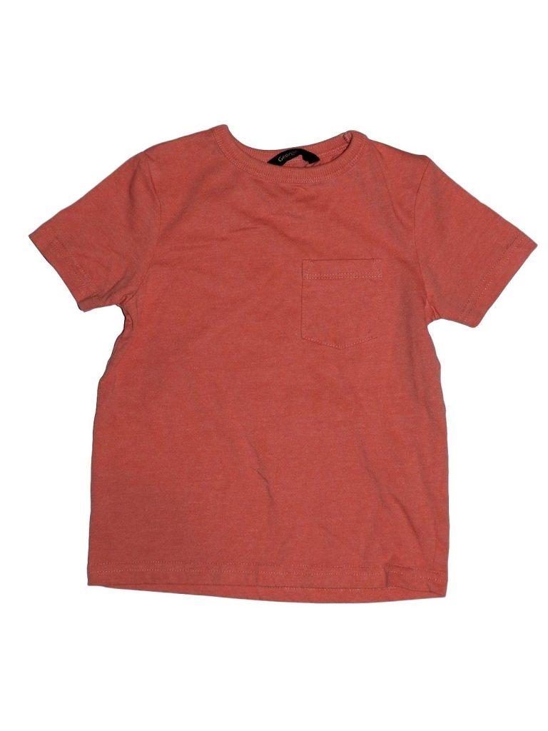 Hibátlan George Lazac színű póló (92-98)