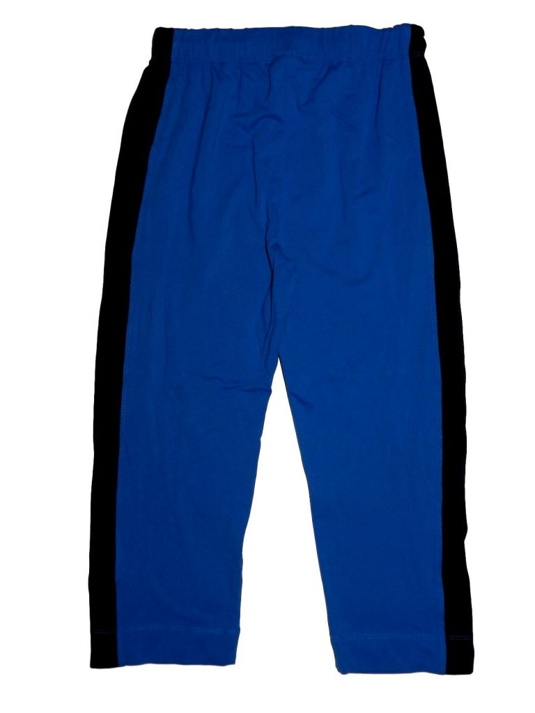 Hibátlan Egyéb márka Kék-fekete sport leggings (158-164)