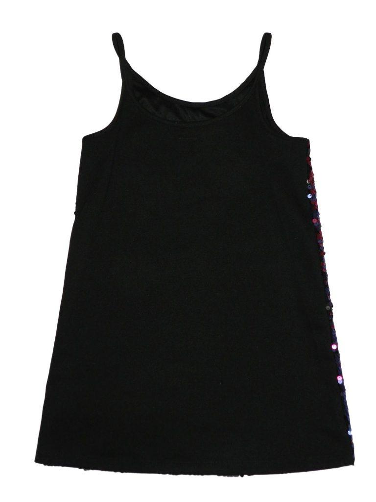 Újszerű F&F Színes flitteres ruha (122-128)