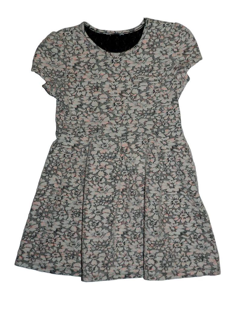 Hibátlan George Virágmintás ruha (122-128)