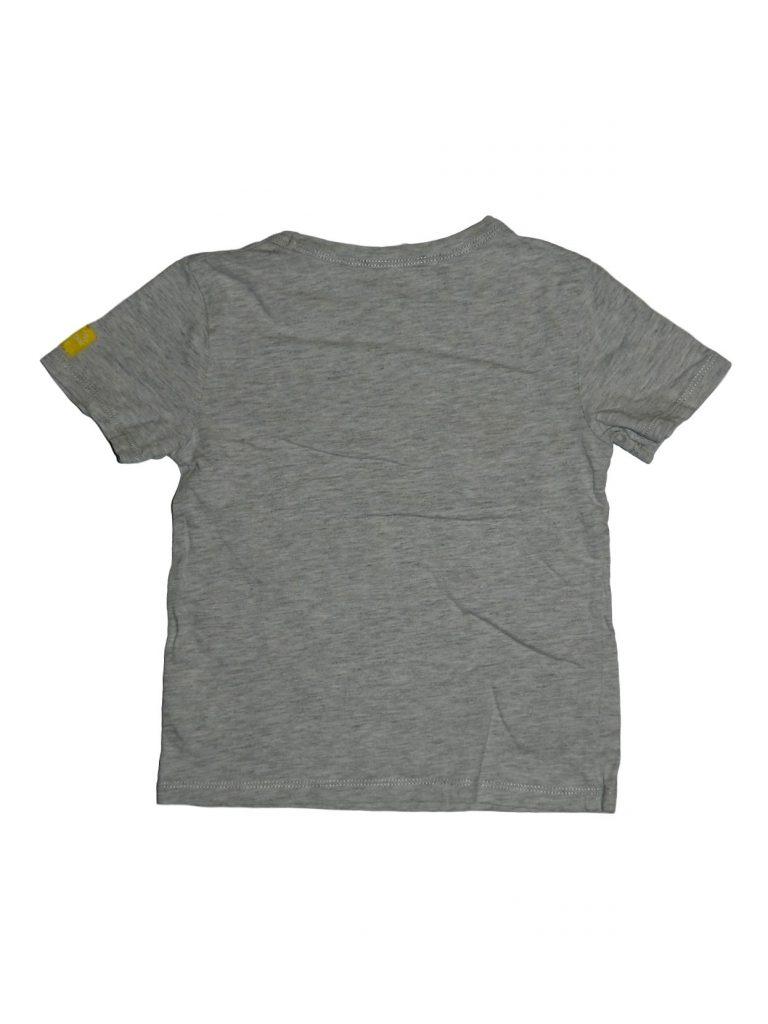 Hibátlan H&M Cápás, szürke póló (98-104)