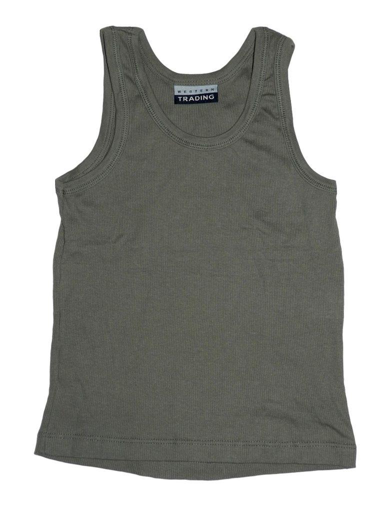 Új / Outlet Egyéb márka Khaki felső (140-146)