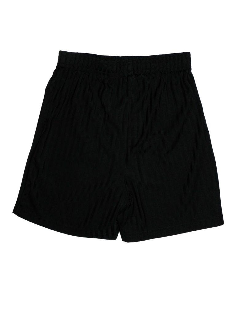 Hibátlan Marks & Spencer Fekete, csíkos rövidnadrág (140-146)