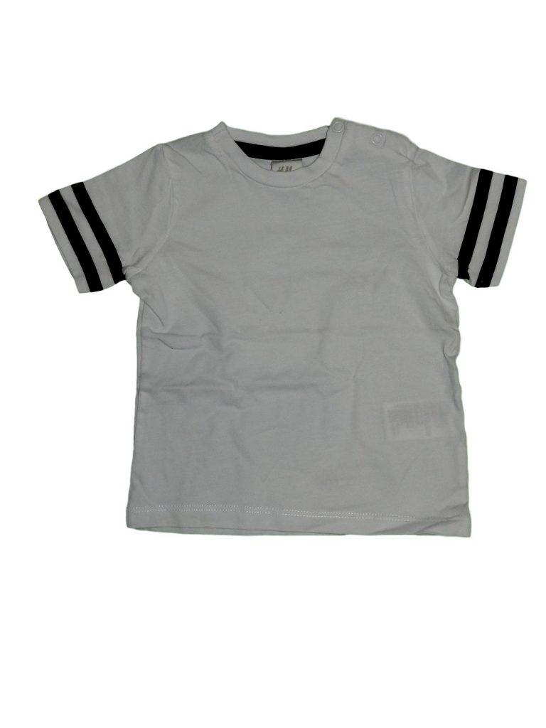 Hibátlan H&M Fehér-fekete póló (68)