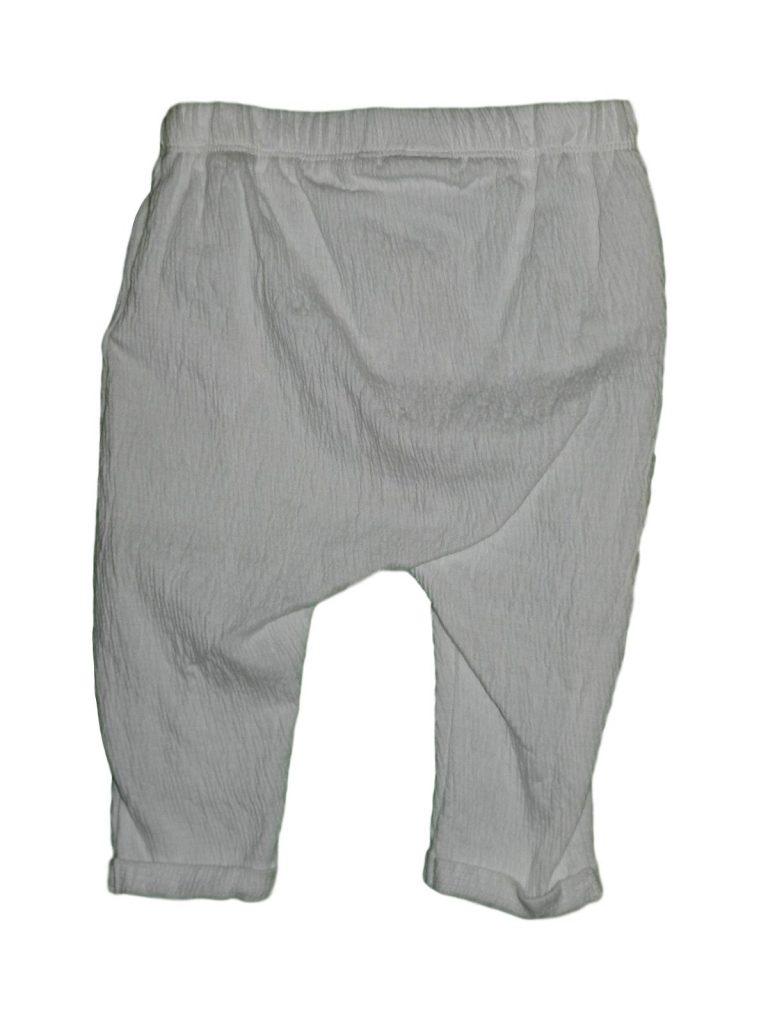 Új / Outlet F&F Fehér, vékony nadrág (68-74)