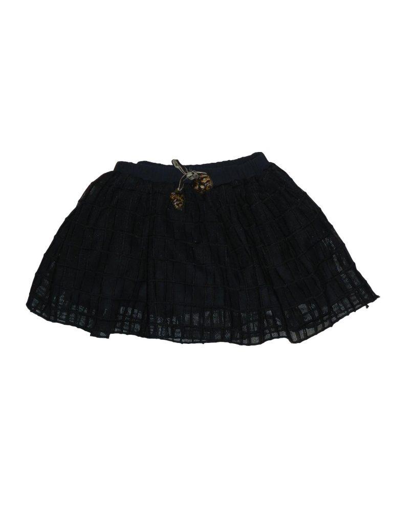 Újszerű Zara Kék tüll szoknya (80-86)