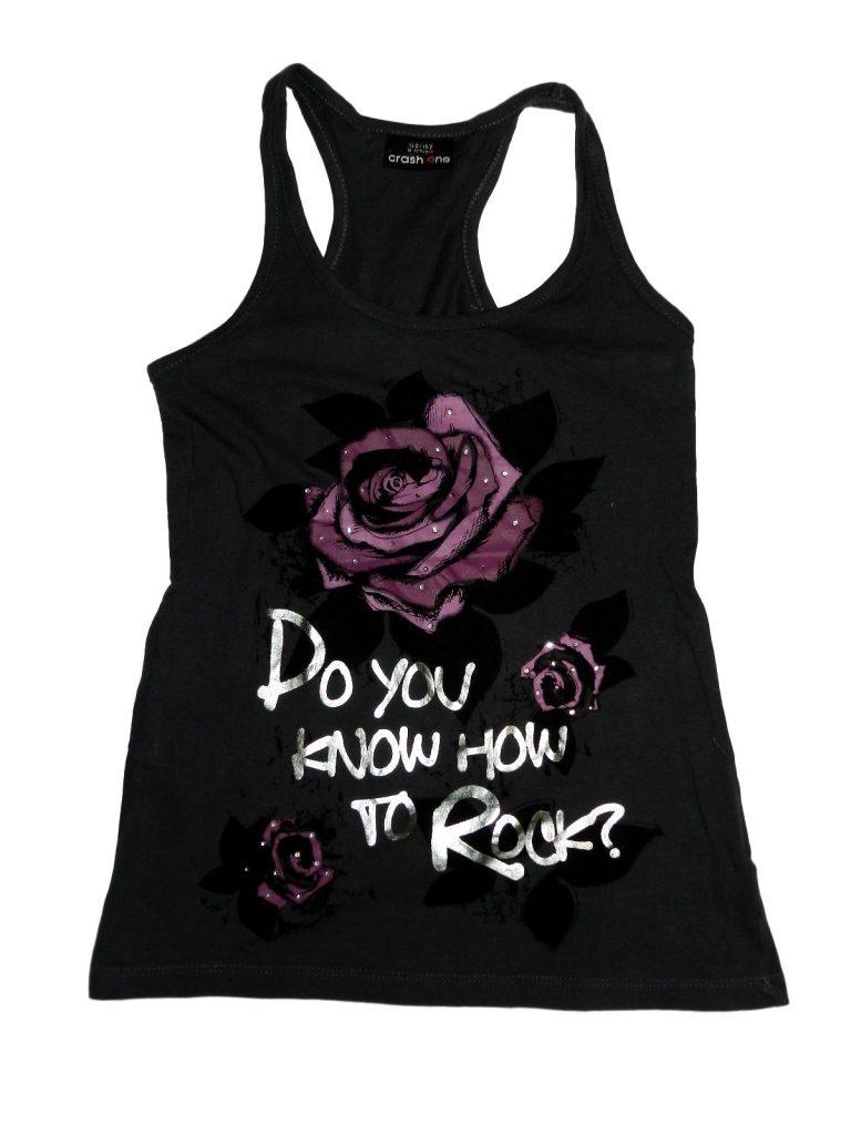 Hibátlan Egyéb márka Rózsás, strasszos felső (146-152)