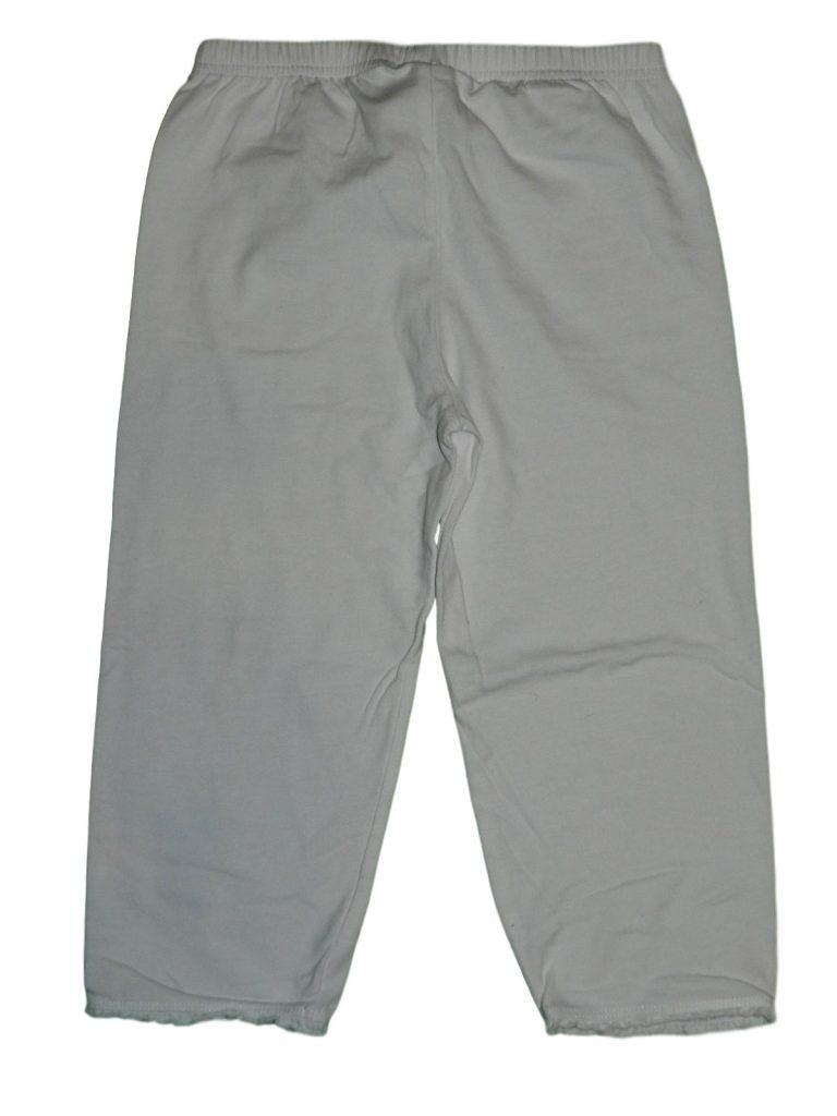 Hibátlan TCM Fehér, térd leggings (134-140)