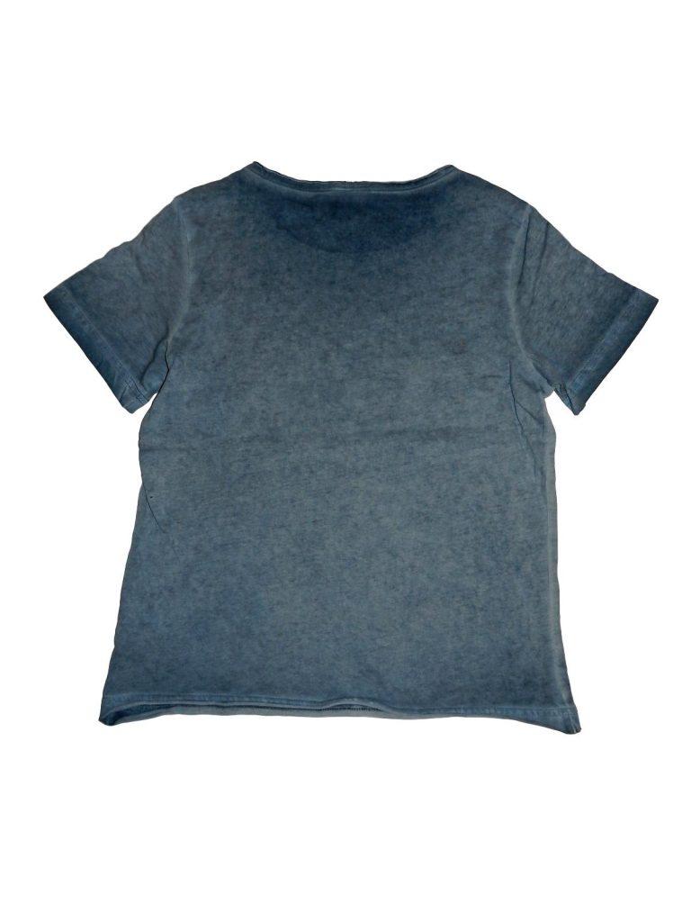 Hibátlan Alive Kék, feliratos póló (140)