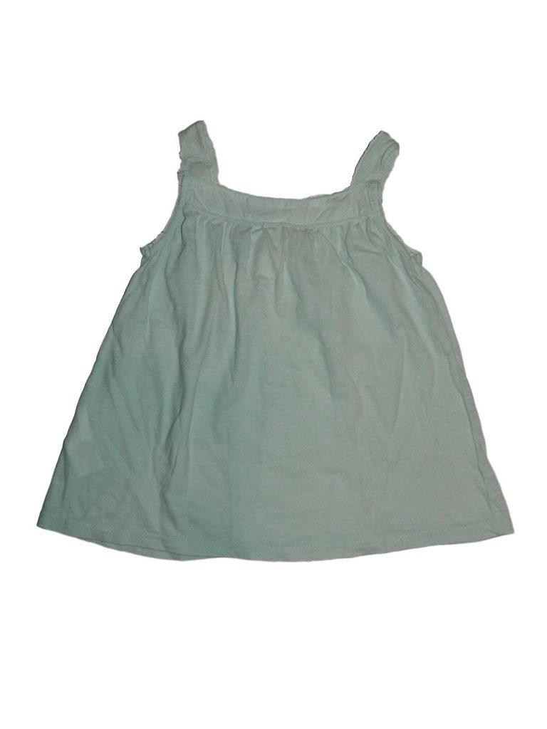 Hibátlan H&M Zöld, hímzett felső (122-128)