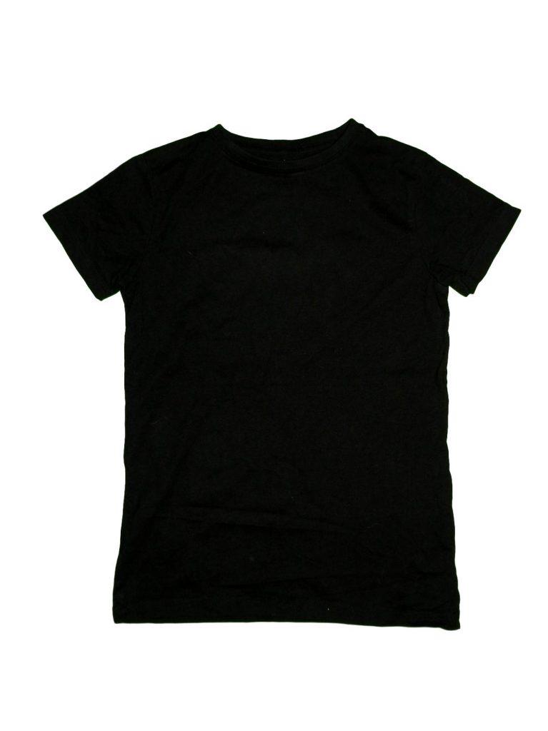 Hibátlan Egyéb márka Fekete póló (134-140)