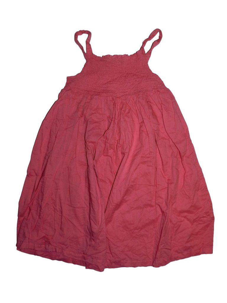 Hibátlan George Pink ruha (140-146)