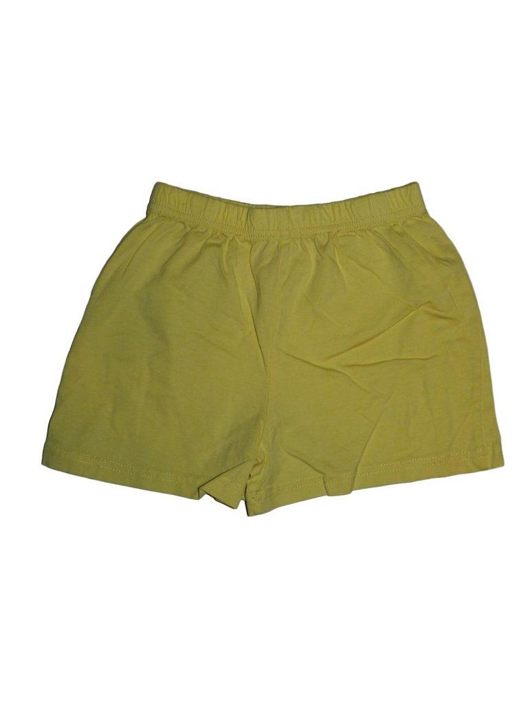 Újszerű Nutmeg Sárga short (110-116)