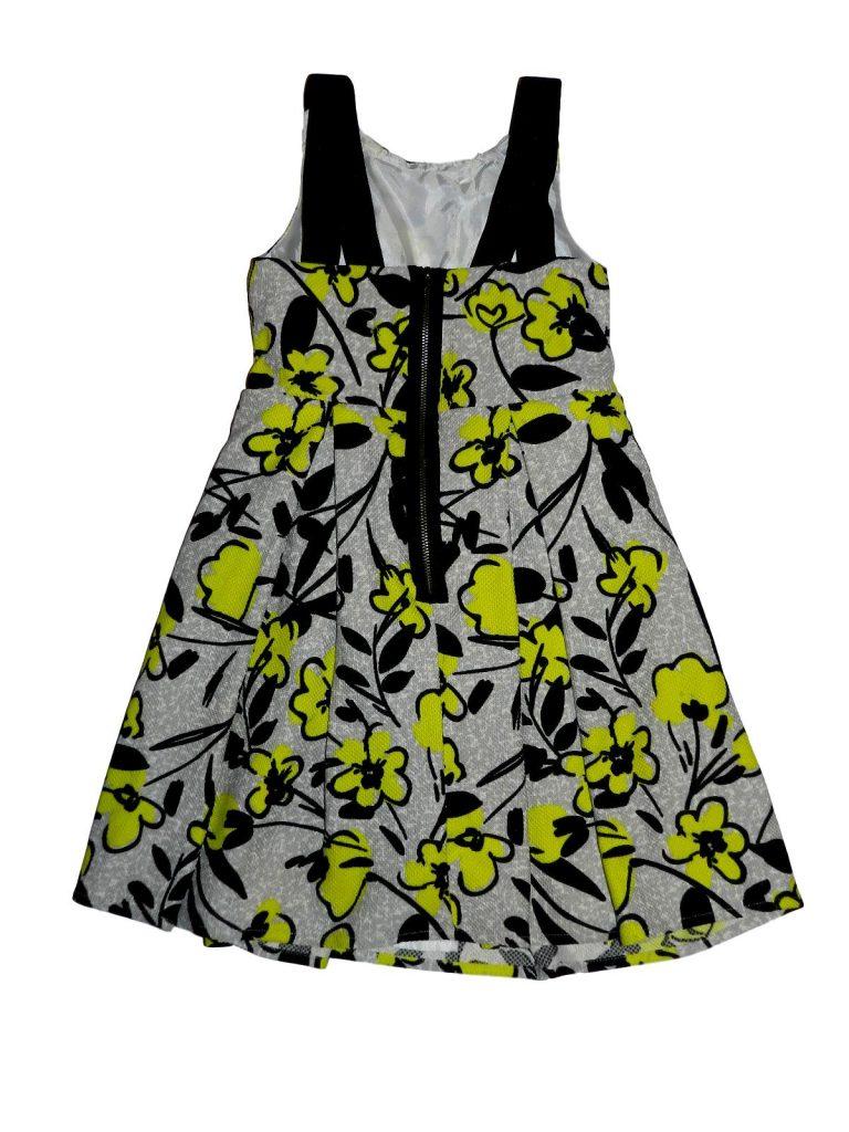 Hibátlan TU Virágmintás ruha (128)