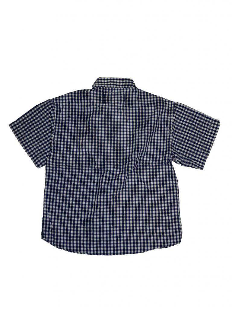 Hibátlan Egyéb márka Kék-fehér kockás ing (122-128)