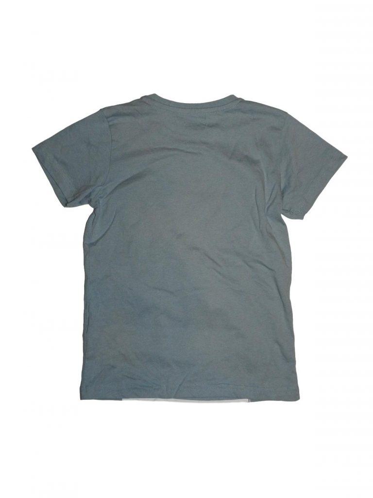 Hibátlan Egyéb márka Kék, mintás póló (122-128)